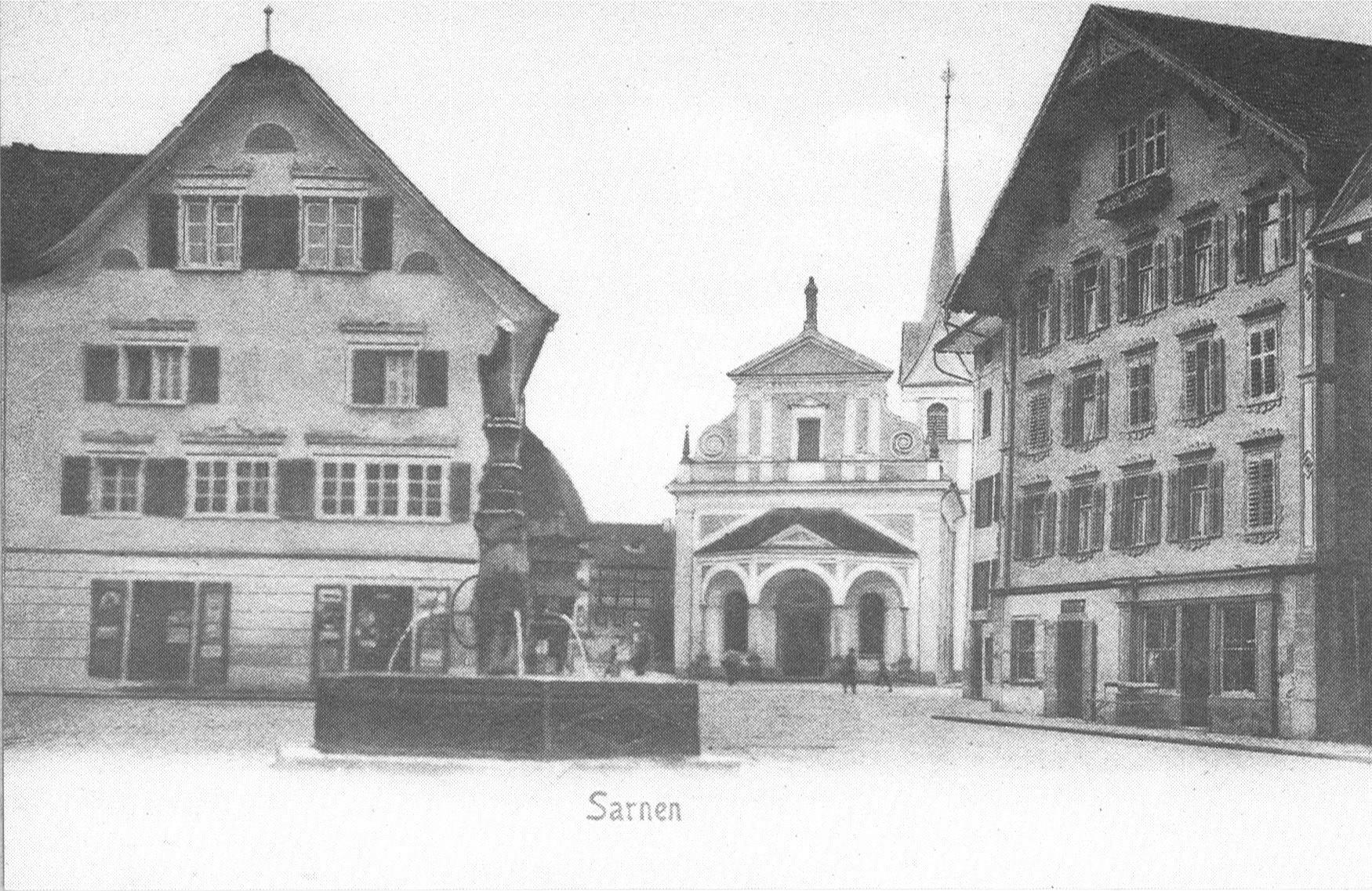 Geschichte Hotel Krone Sarnen